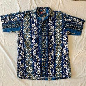 Ralph Lauren Chaps Hawaiian Button-Down Shirt